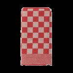 Theedoek barbecue rood 65x65 cm