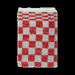 Keukendoek blok rood 50x50 cm