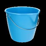Mini-mopemmer blauw 12 L