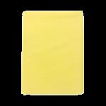 Stofwisdoeken geel 130x38 cm, 25 stuks