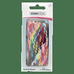 Vlechtgaren polyester, 25 kleuren