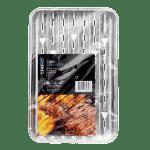 BBQ grillschaal, 2 stuks