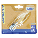 Led Filament Kaarslamp (2,1) 25W E14