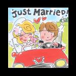 Wenskaart WK 5 Huwelijk Blond