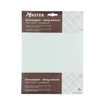 Schuurpapier Fijn korrel 400 wit 23x28 cm, 5 stuks