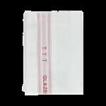 Glazendoek rood 60x65 cm